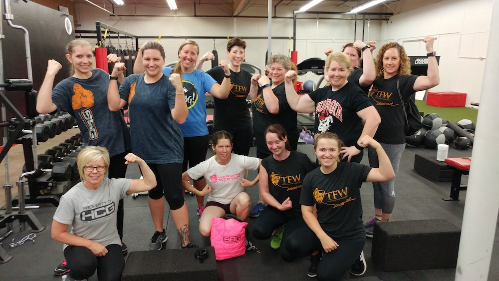 Training For Warriors Ladies Fitness Class