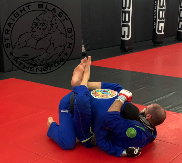 Self Defense Using BJJ on Ground